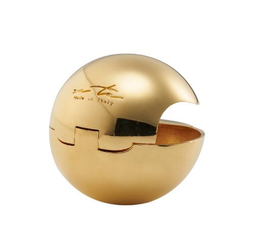 [Sfera] Earring, Gold color (2pcs)