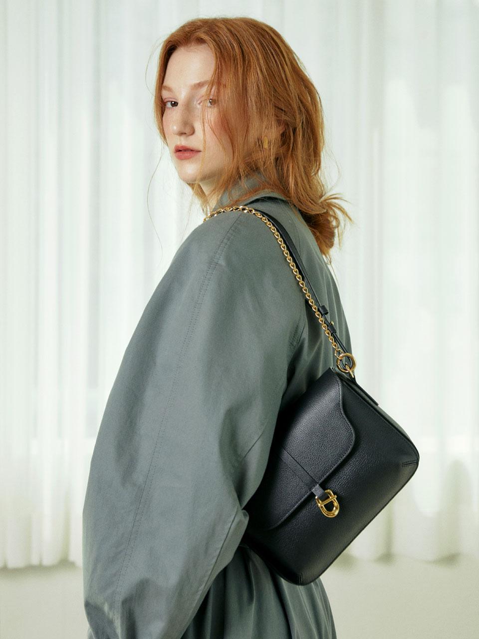 [ndearose] Classic bag_Black