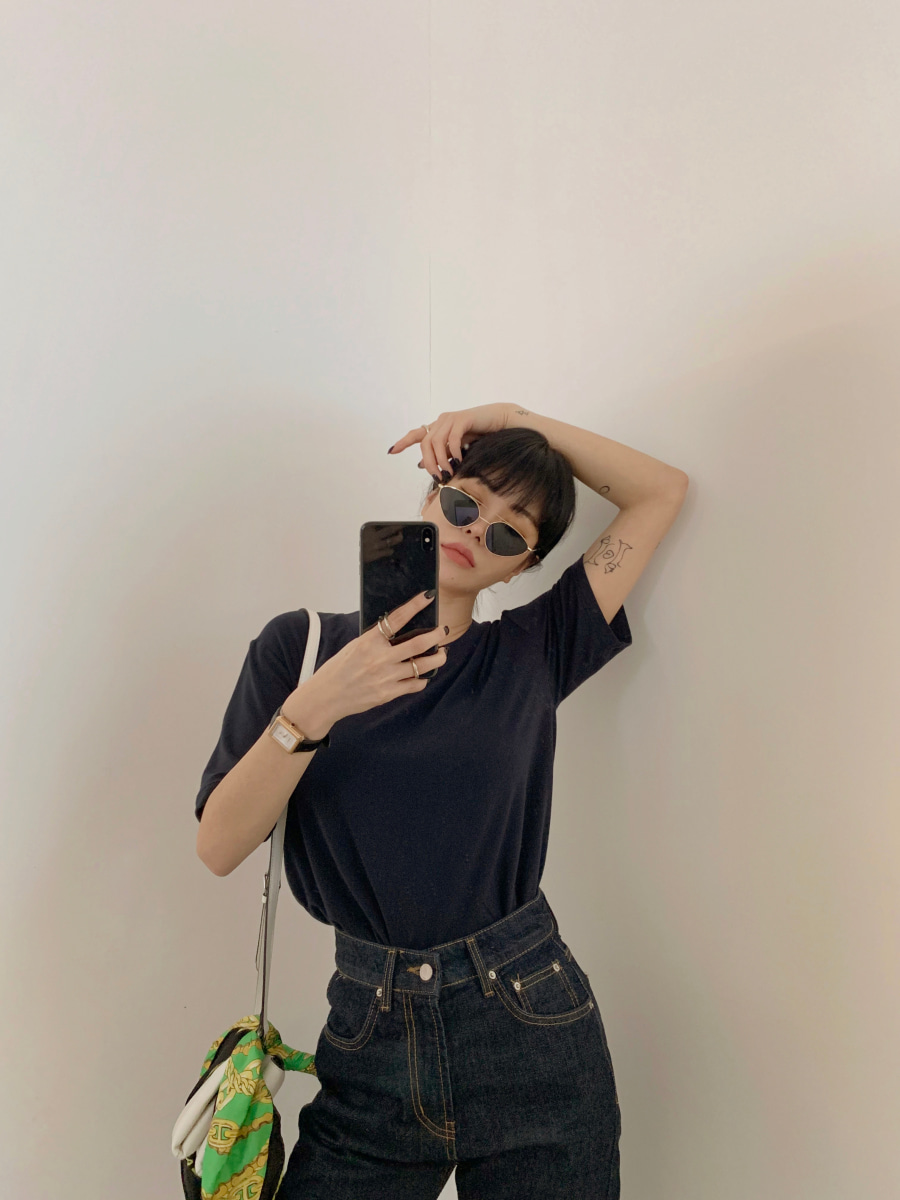 Lily's T-shirts [Navy]