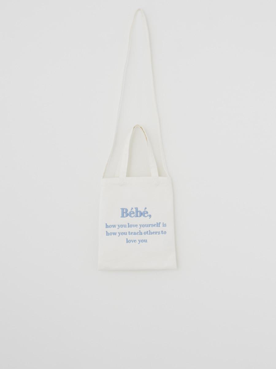 Bébé mini ecobag [Ivory]