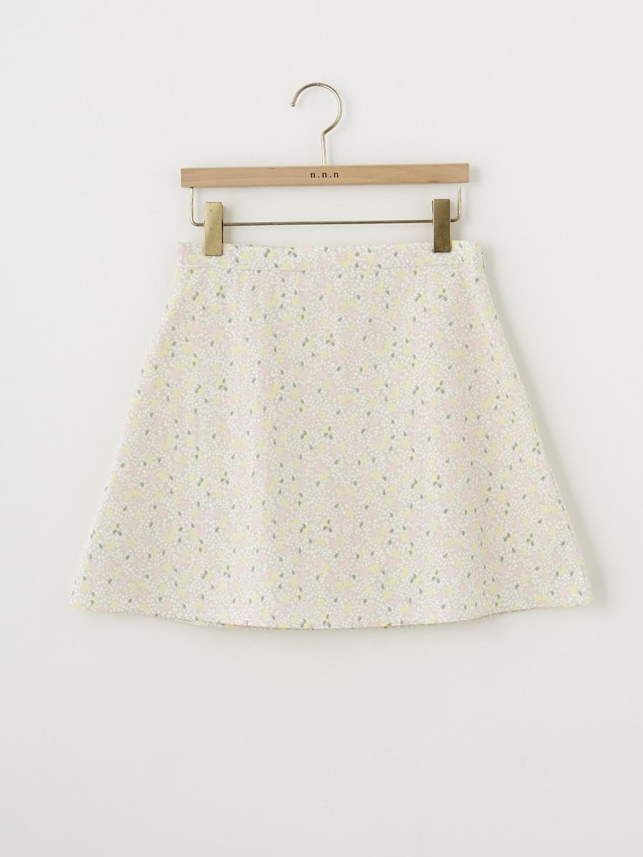 Flower Skirt (속바지 안감) [Beige]