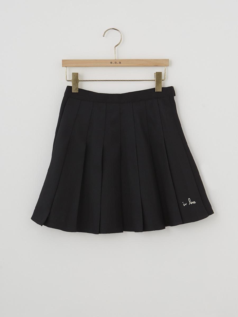 in love skirt (속바지 안감) [black]
