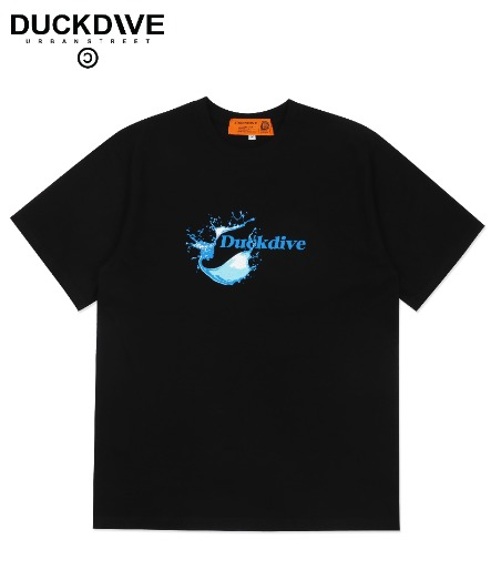 WATER DABBLE T-SHIRT BLACK
