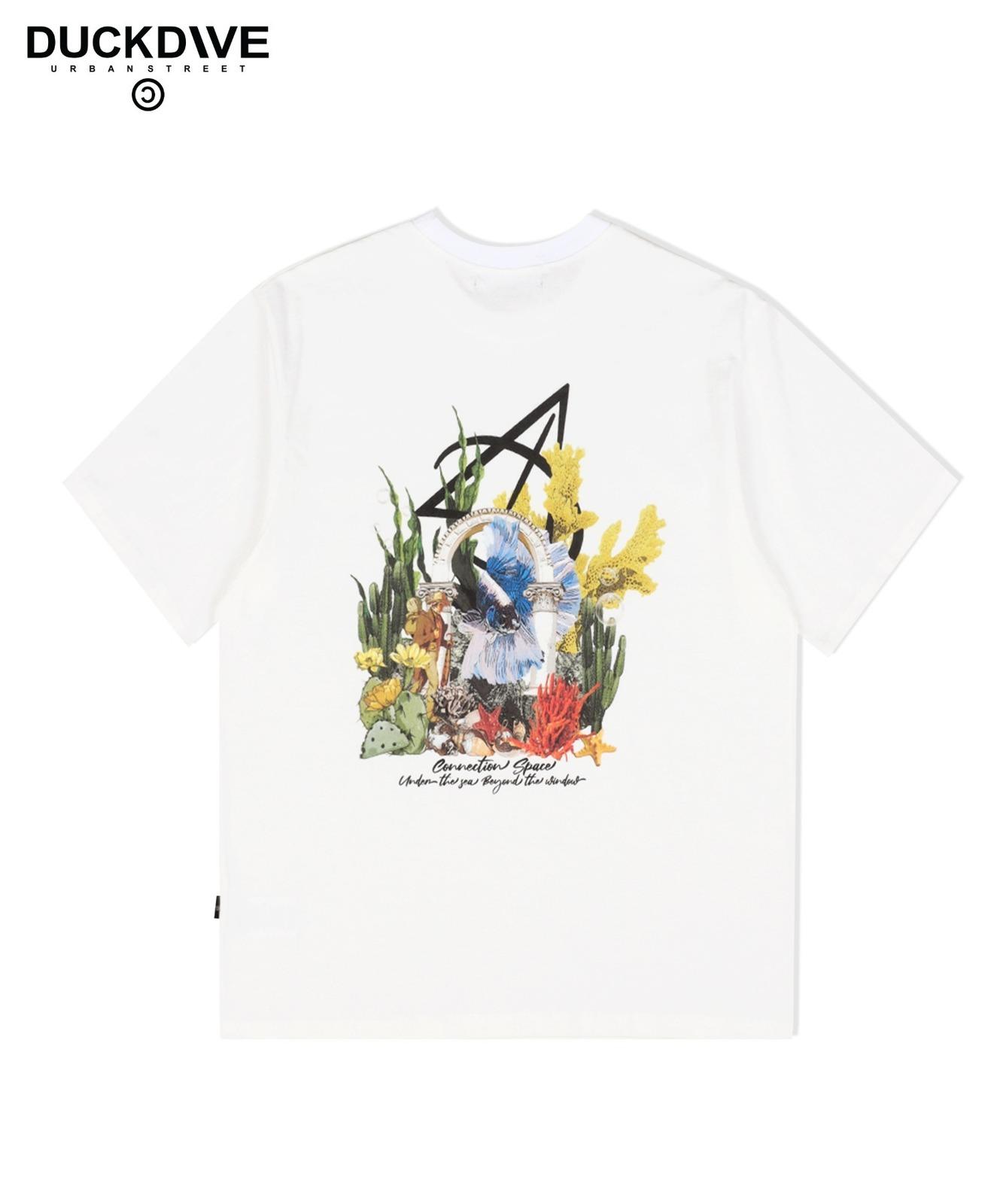 언더워터2 티셔츠 아이보리