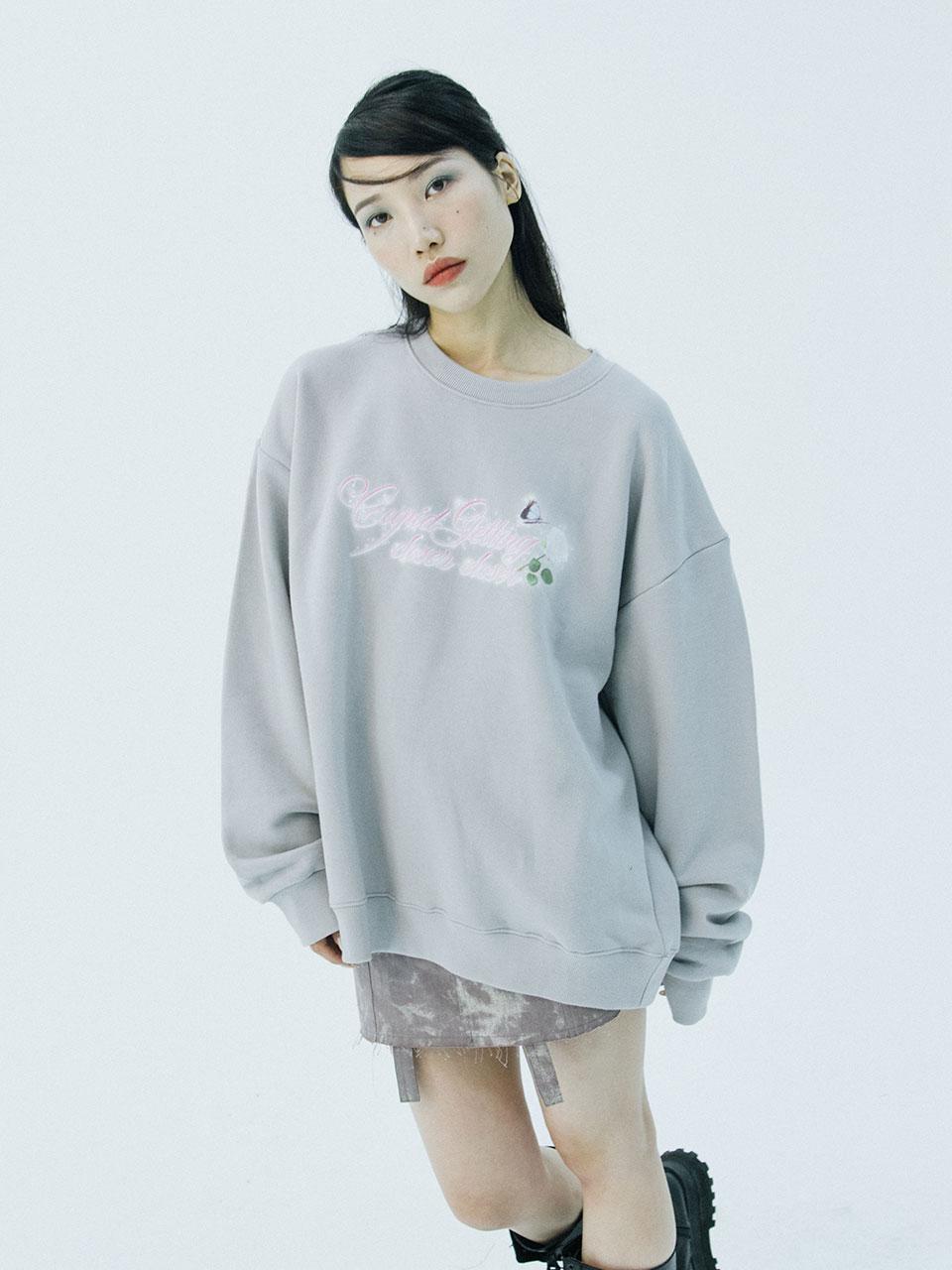 Cupid sweatshirts (grey)