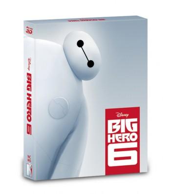 BIG HERO 6 STEELBOOK (2D+3D) FULL SLIP (LIMITED 600 COPIES) NC#5