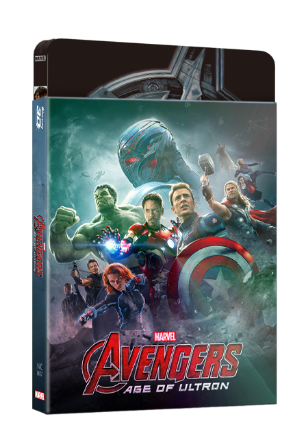 AVENGERS : AGE OF ULTRON(2D+3D) STEELBOOK LENTICULAR SLEEVE (LIMITED 700 COPIES) NC#7