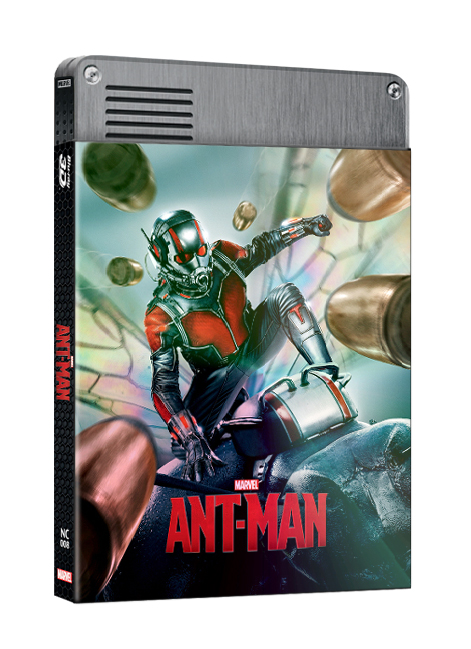 ANT-MAN(2D+3D) STEELBOOK LENTICULAR SLEEVE(LIMITED 500 COPIES) NC#8