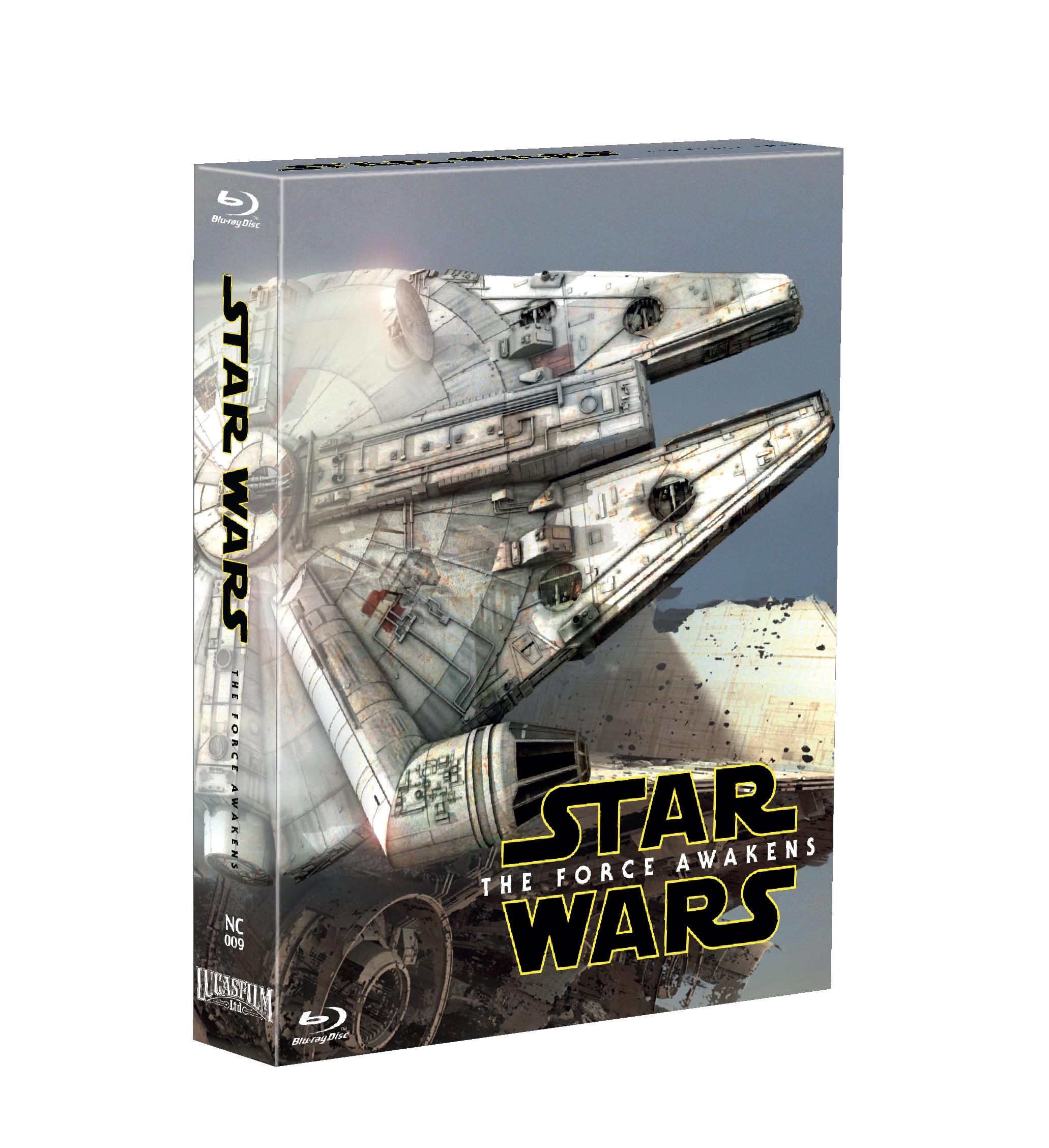 STAR WARS: EPISODE VII - THE FORCE AWAKENS STEELBOOK FULL SLIP-B(LIMITED 200 COPIES) NC#9