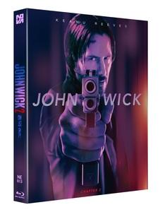 JOHN WICK 2 STEELBOOK LENTICULAR SLIP 1,300 NUMBERED (NE#13)