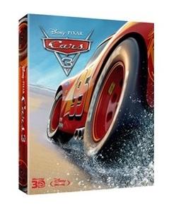 BLU-RAY / CARS 3 STEELBOOK LE (3 DISC)