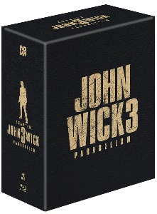 John Wick: Chapter 3 STEELBOOK ONE-CLICK BOX SET (NE#25)