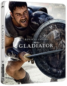 BLU-RAY / Gladiator STEELBOOK (3disc: 4K UHD + 2D + bonus BD)LE