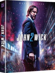 John Wick 2 4K UHD STEELBOOK LENTICULAR FULL SLIP (NE#27)