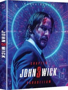 John Wick: Chapter 3 - Parabellum 4K UHD STEELBOOK FULL SLIP (NE#28)