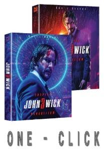 John Wick: Chapter 3 - Parabellum 4K UHD STEELBOOK ONE-CLICK (NE#28)