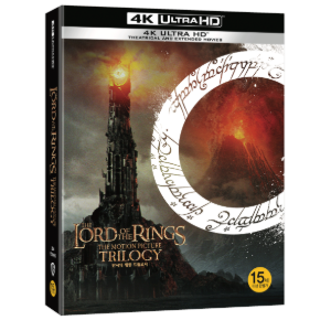 BLU-RAY / The Lord of the Rings 4K UHD Trilogy ( 9 Disc)