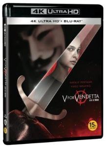 BLU-RAY / V for Vendetta Plain Edition (2disc: 4K UHD + 2D)