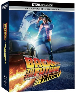 BLU-RAY / Back to the future Trilogy Repackage Remaster (BD+4K UHD) (7 Disc)