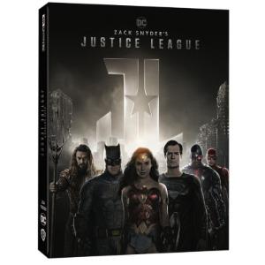 BLU-RAY / Zack Snyder's Justice League STEELBOOK LE(4Disc 4K UHD + BD)