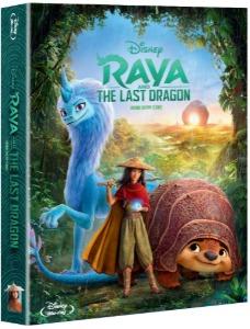 BLU-RAY / Raya and the Last Dragon STEELBOOK