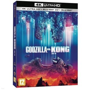 BLU-RAY / Godzilla VS. Kong (3disc: 4K UHD + 3D + 2D)