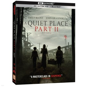 BLU-RAY / A Quiet Place Part II (2Disc, 4K UHD+2D)