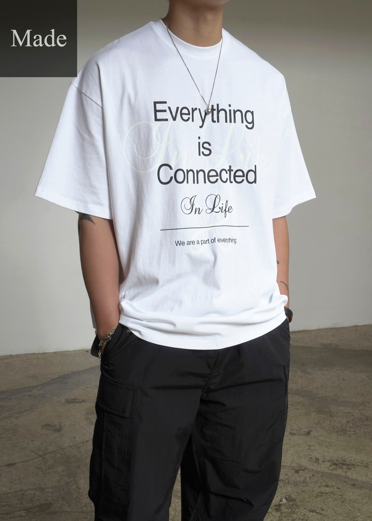 21SS Everything is Connected Tee (3Color)