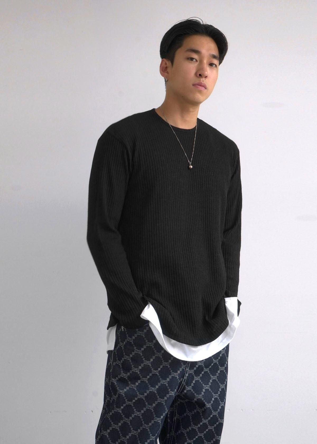 Modern Linen Knit Tee (3Color)