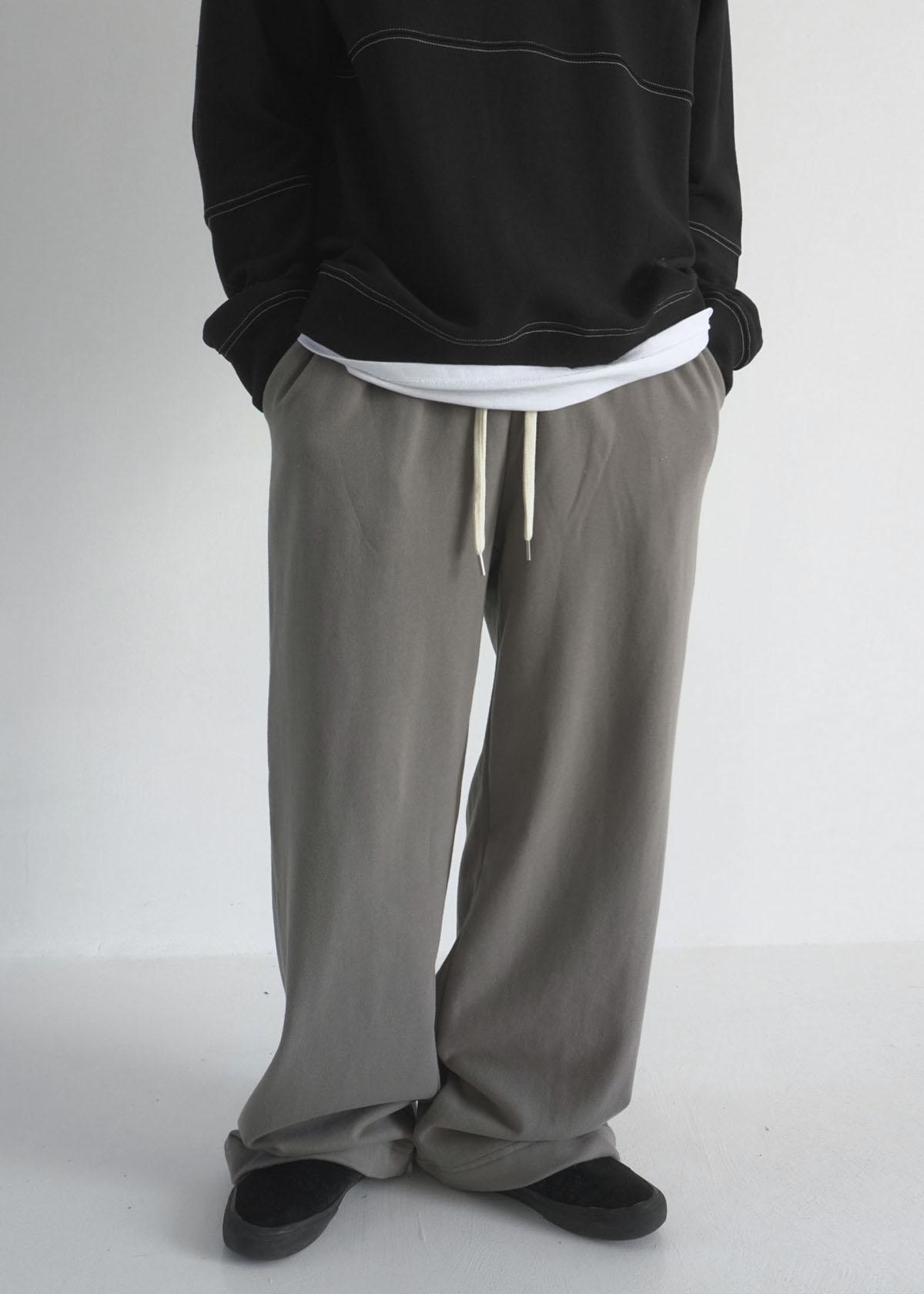 Long Wide Training Pants (4Color)
