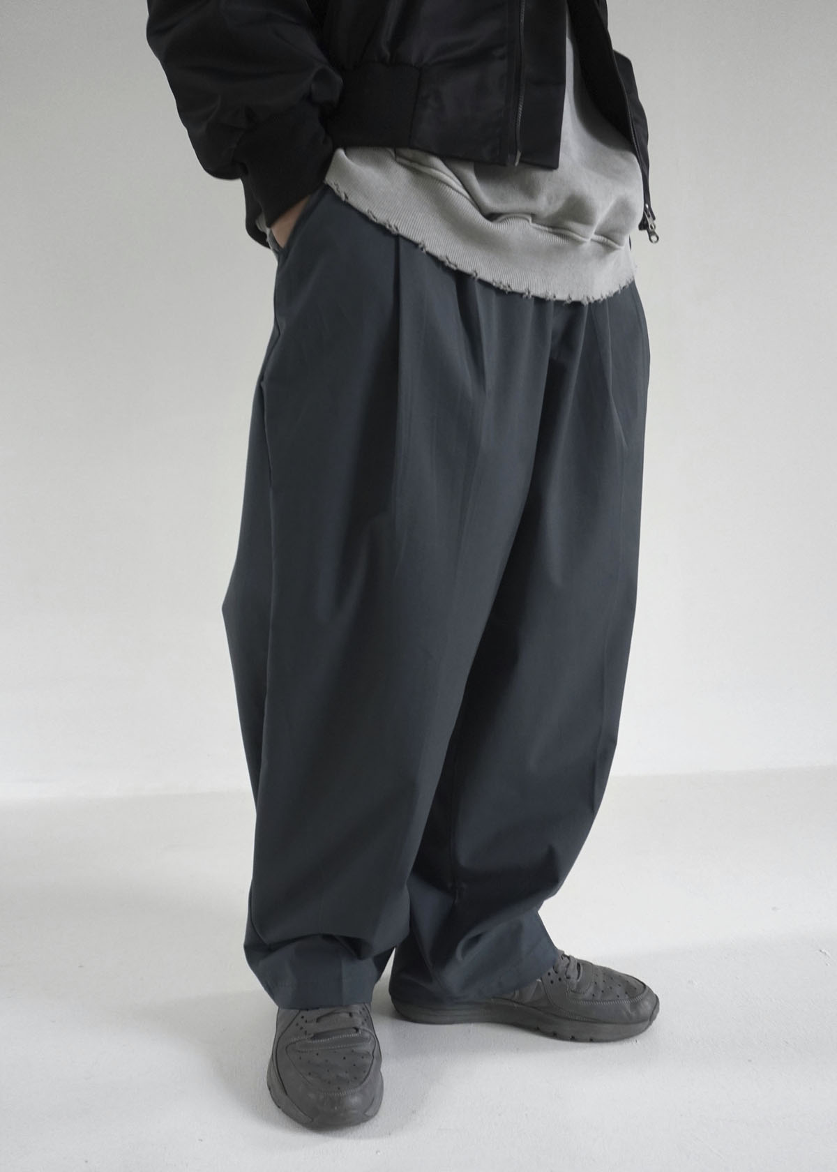 Formal Wide Balloon Pants (3Color)