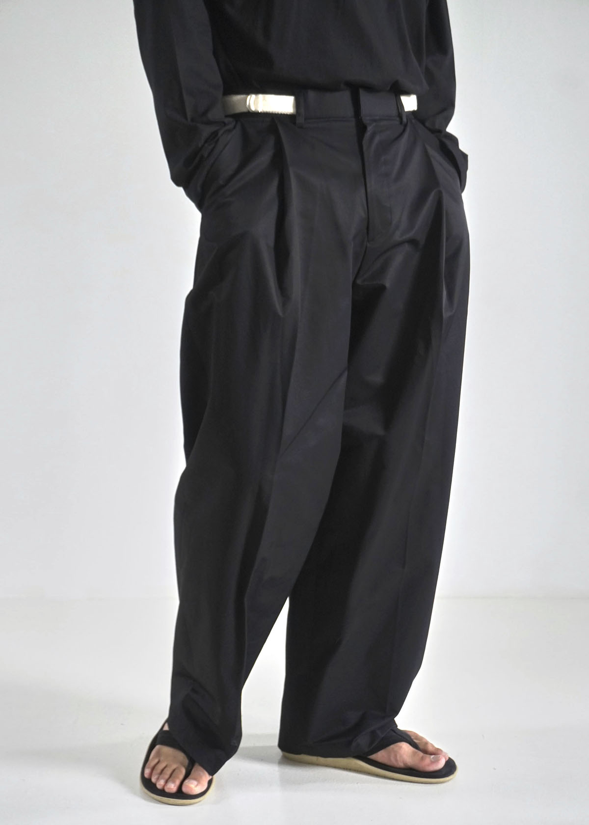 Formal One Tuck Wide Pants (3Color)