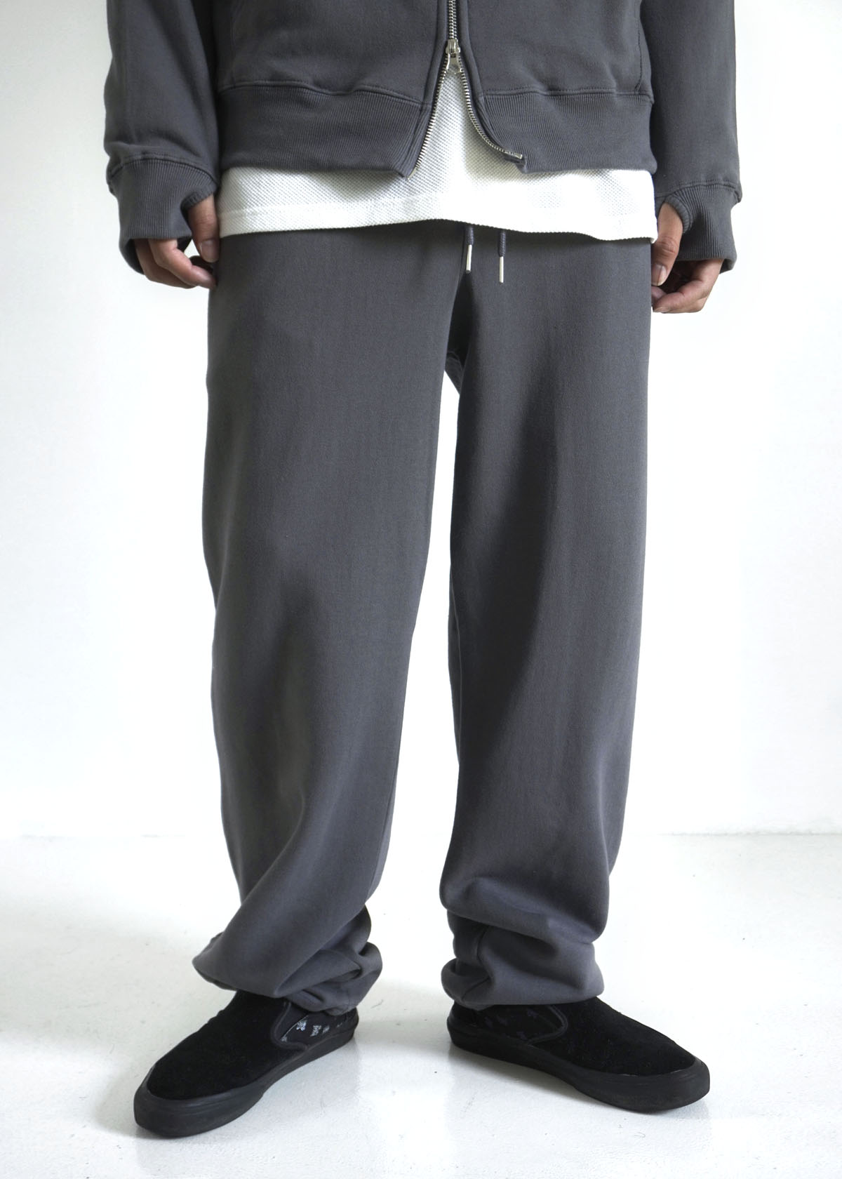 Straight String Cotton Pants (4Color)