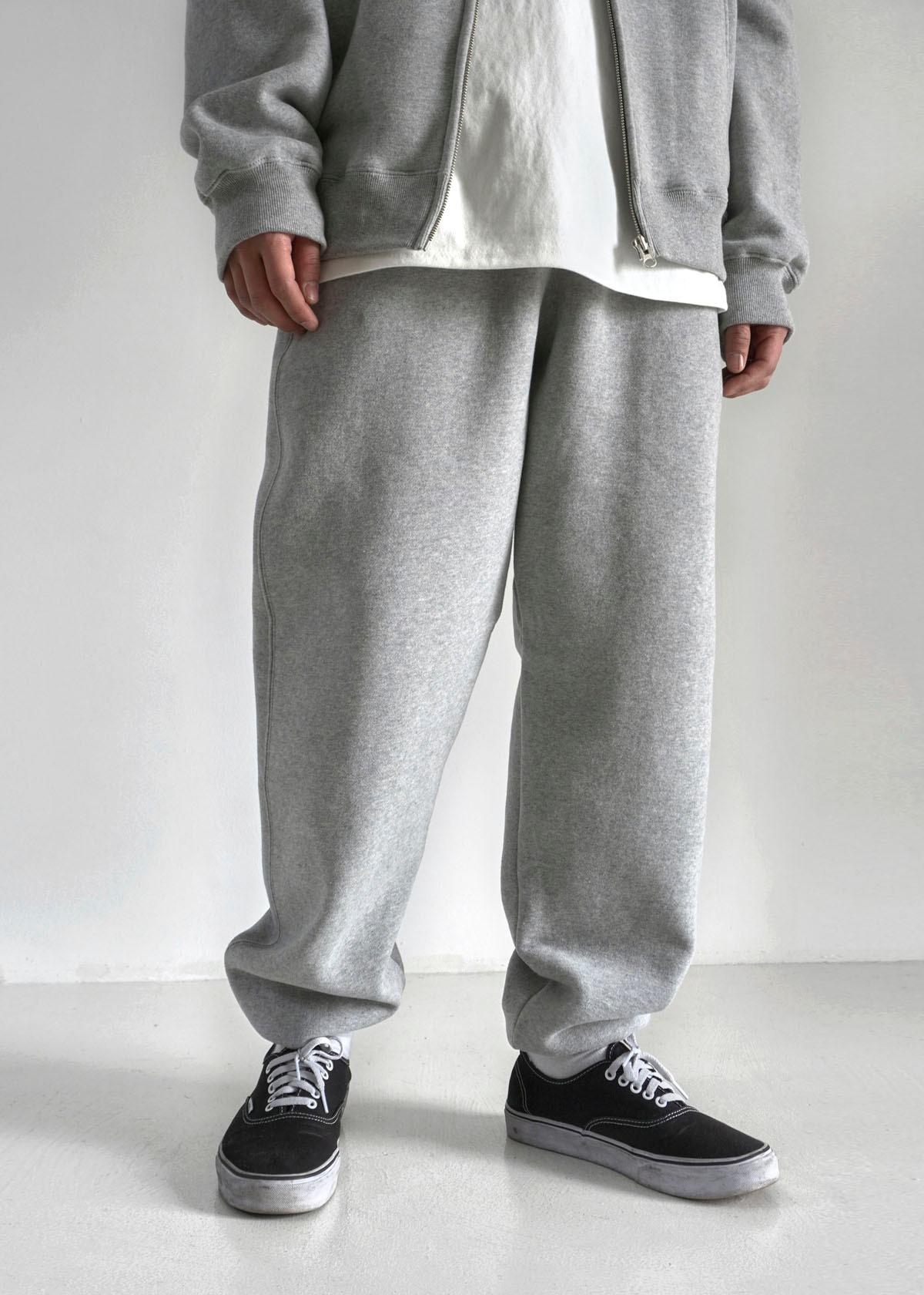 [Setup] Soft Napping Jogger Pants (Gray)