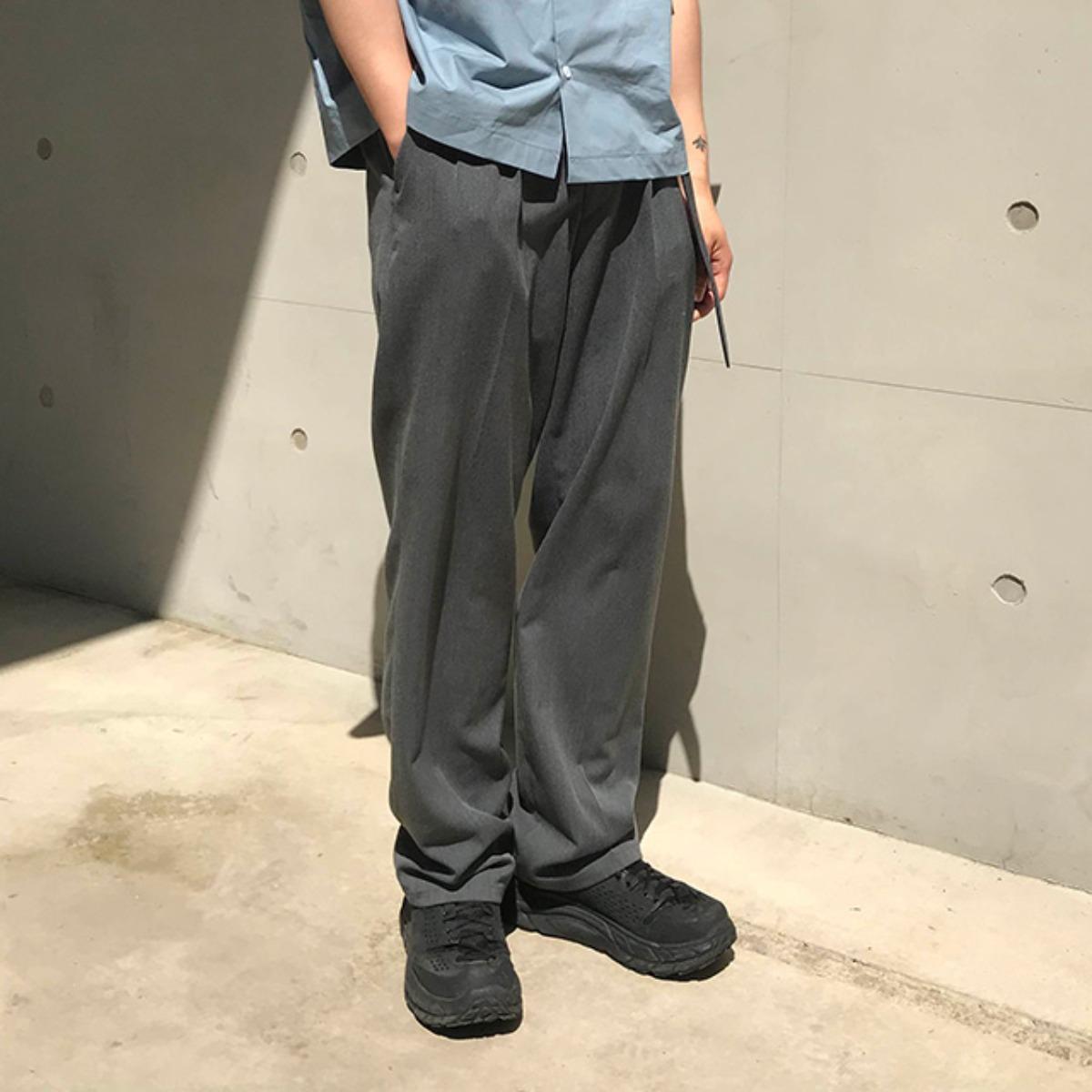 [50% SALE] Long Wide Slacks (2Color)