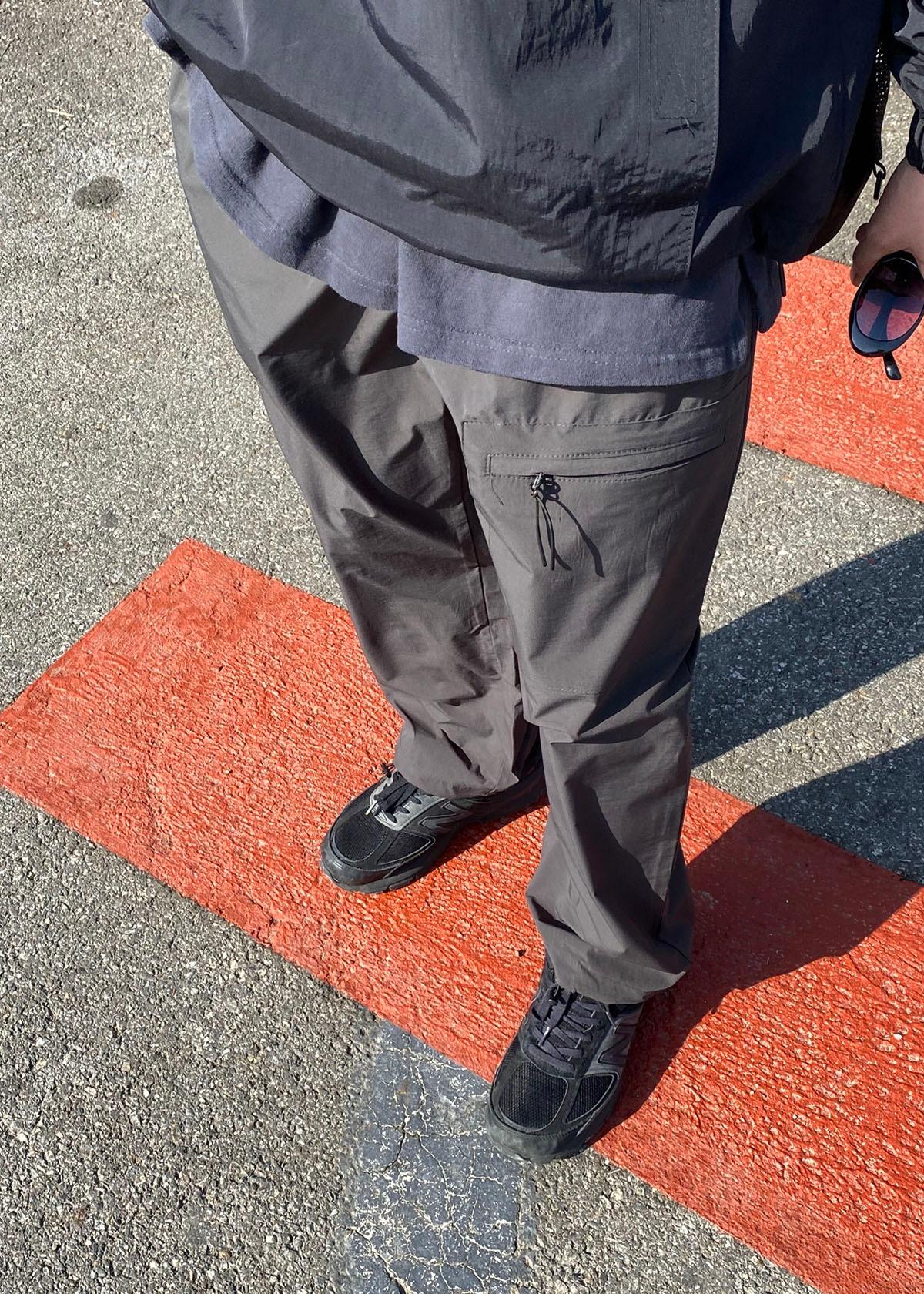One Pocket String Pants (2Color)