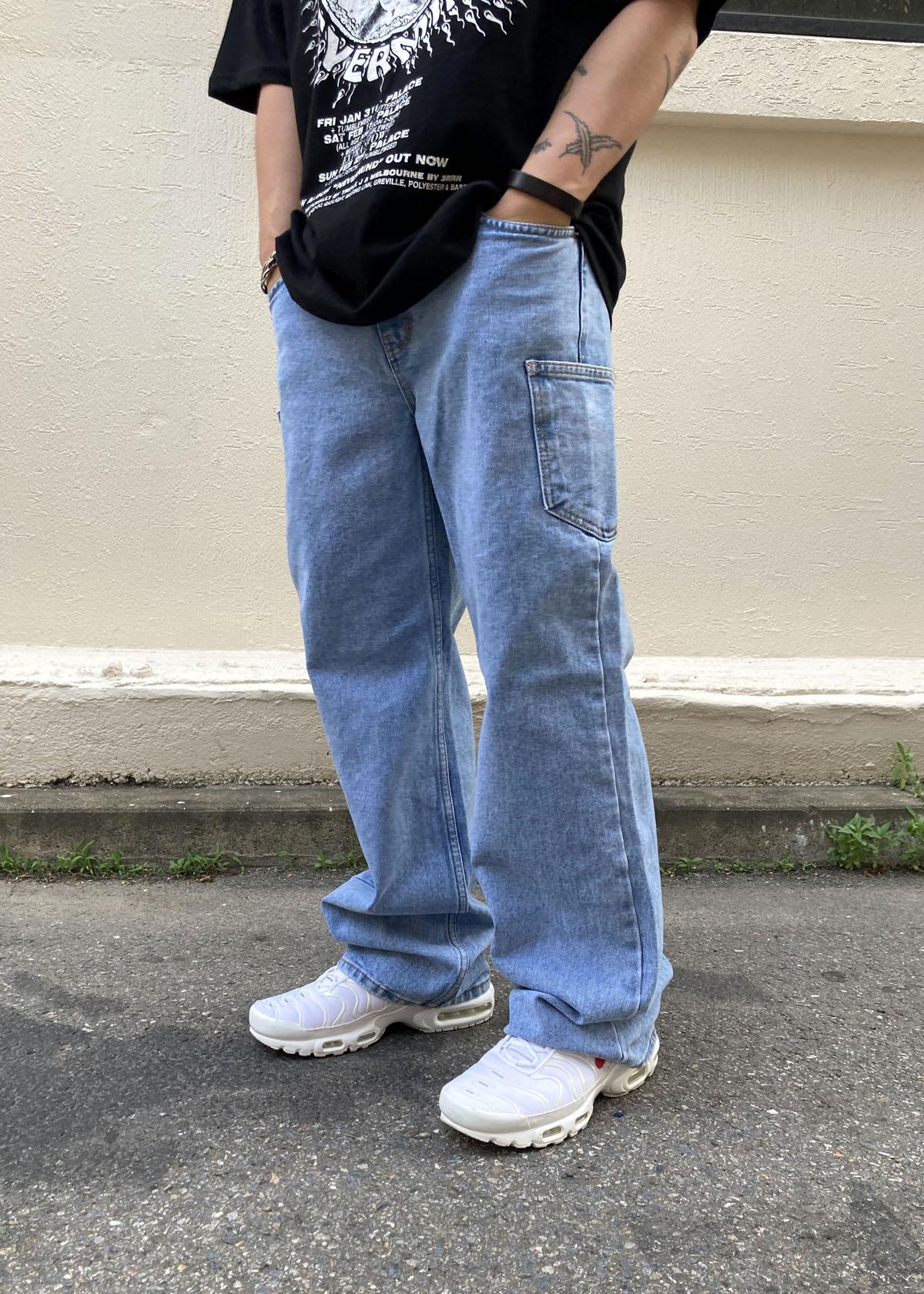 Side Pocket Light blue Jeans