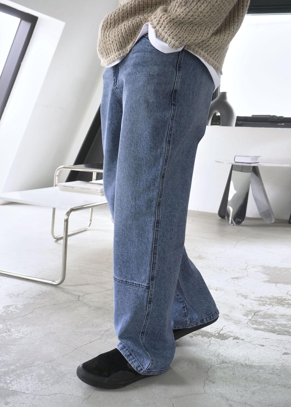 Nautral L Pocket Denim Pants