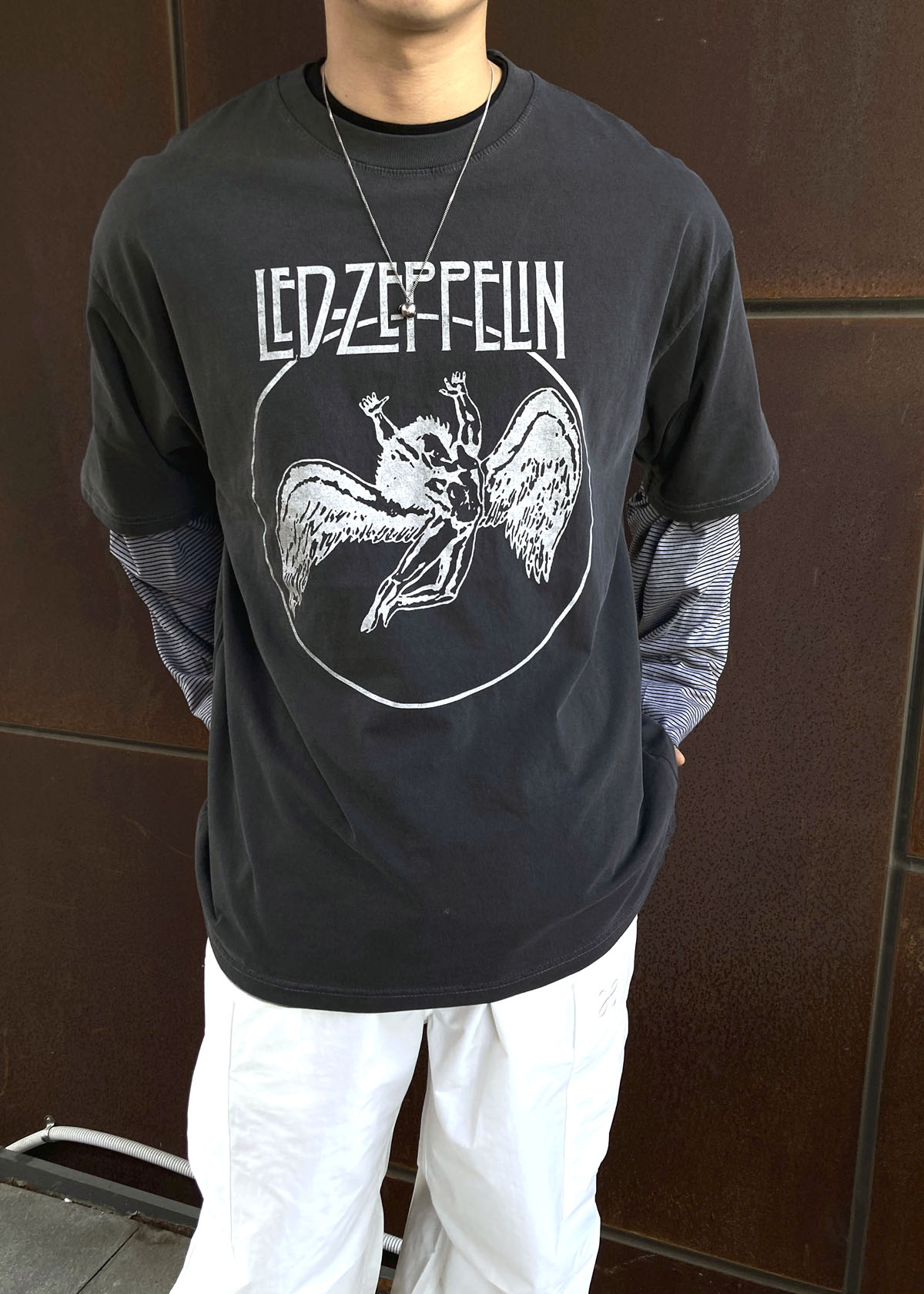 LED ZEPPELIN Dyeing T-shirts (3Color)