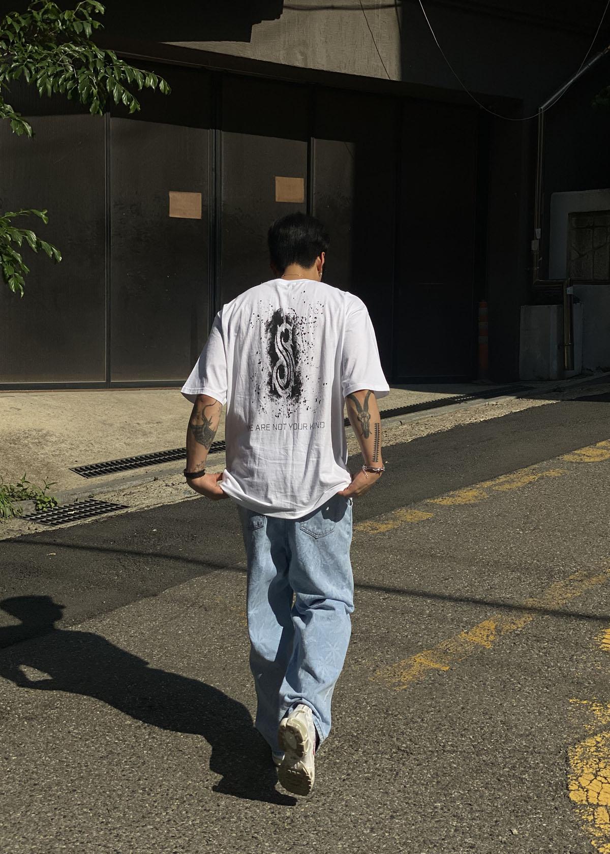 Slipknot Splash Over T-shirts (2Color)