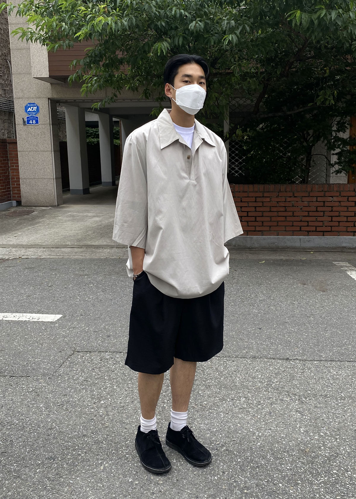 7' Wide Cutting Half Shirts (2Color)