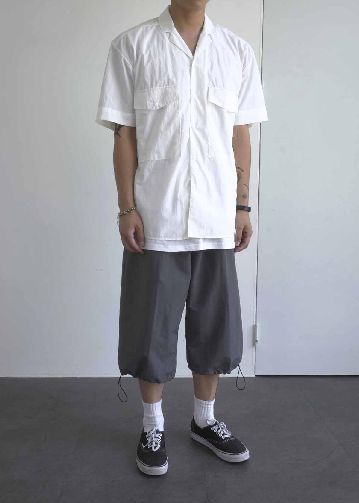 9' Nylon String Wide Pants (2Color)