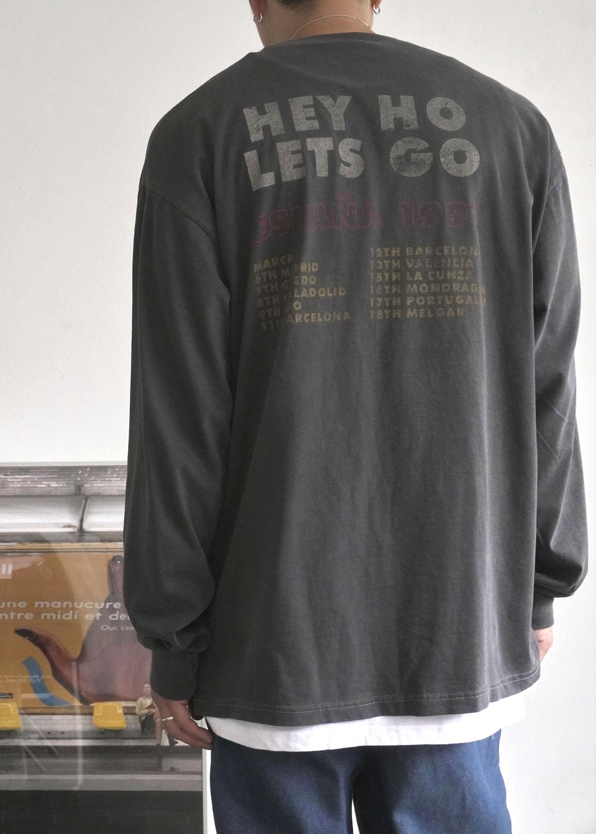 Ramones 1991 Dyeing Long Sleeve Tee