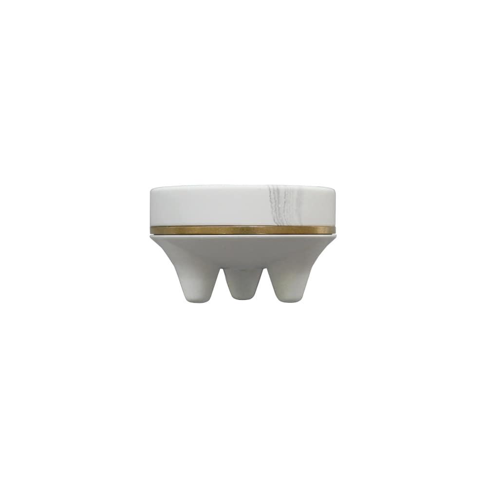 Mini incense burner _ white marble