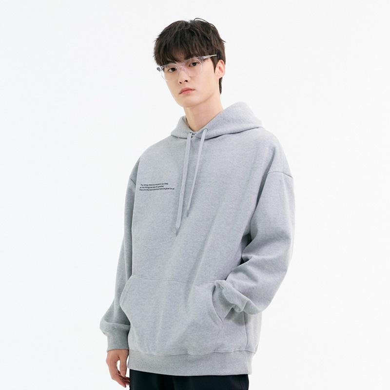 [SF9 다원님 착용][10/29일 예약배송] Message Hoodie (grey)