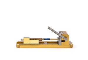 Reed tip cutter