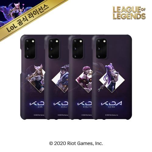 리그 오브 레전드 KDA 사각일러스트 갤럭시 스마트폰 케이스