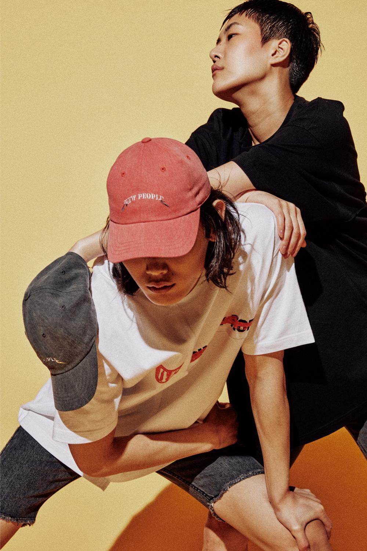 RED PIGMENT NEW PEOPLE CAP