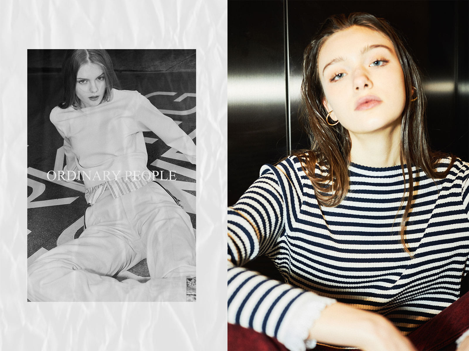 Ordinary people 21s/s Women Shirts Collection