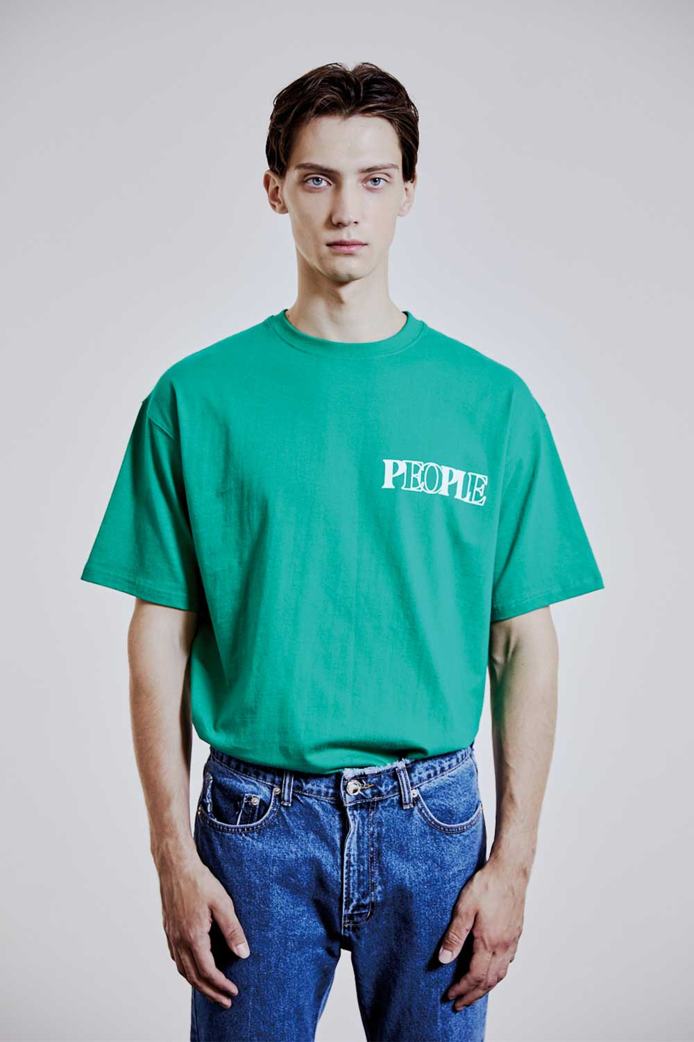 10TH ARCHIVE SIMPLE GREEN LOGO T-SHIRTS